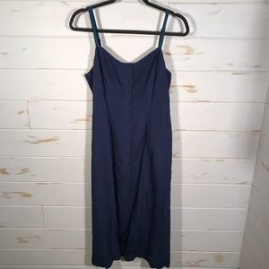 Ny & Co. linen sundress with buttons